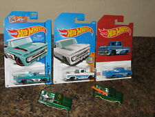 Hot Wheels Lot of 5 Custom '62 Chevy Pickup Variation 1962 Chevrolet Surfboard