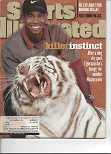 Sports Illustrated April 13 1998 Tiger Woods