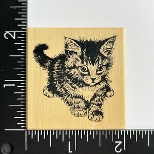 PSX Designs Kitten E2599 Wood Mounted Rubber Stamp