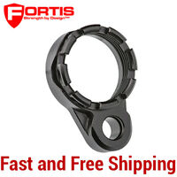 Fortis LE Lightweight Enhanced QD End Plate w/ Black K1 Tapered Castle Nut