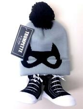 Baby Boy's Hat and Socks 6-12 Months Gift Set Trumpette Non Slip Booties
