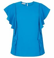 Hobbs Ivy Kingfisher Blue Top. Various Sizes. RRP £89.