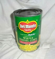 8 Cans of Del Monte Fresh Cut Golden Sweet Whole Kernel Corn No Salt Added 15+OZ
