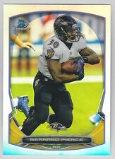 BERNARD PIERCE 2014 Bowman Chrome Football Refractor Card #48 Ravens