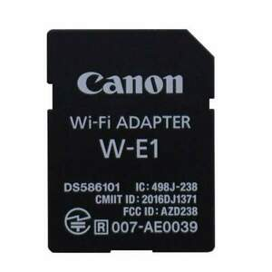 New Canon SD WIFI Wireless adapter W-E1 for EOS 5DS 5DSR 7D2 markII Camera Phone