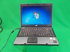 HP Compaq 6510b Intel Core 2 Duo T7100 @ 1.80GHz 160GB HDD 2GB RAM Windows 7 Pro