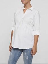 Camisas y tops premamá color principal blanco