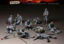 1:35 German Infantry at Rest World War 2 (WW2) 10 Figures Resin Model Kit