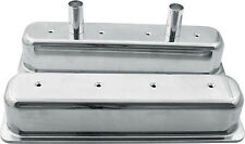 ALLSTAR CHEVY SBC ENGINE CENTERBOLT VALVE COVERS CAST ALUMINUM TALL 1-3/8 TUBES