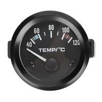 """2"""" 52mm Kühlwasser/Wassertemperatur-Anzeige Universal Zusatz Instrument"""