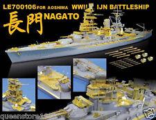 LionRoar PE details 1/700 WWII IJN Battleship Nagato for Aoshima  NEW!