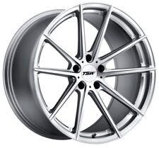 18x8 TSW Bathurst 5x108 Rims +40 Silver Wheels (Set of 4)