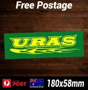 URAS Drift Sticker - Vinyl Decal Nissan Skyline R34 R33 R32 R31 Silvia JDM Slap