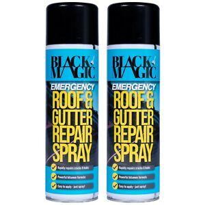Emergency Leak Repair Spray Roof Guttering Piping Window Sealer 2 x 500ml