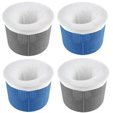 New listing Aquatix Pro Pool Skimmer Socks 10pc Large Premium Filter Saver Socks, Ultrafine