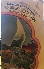 JOURNEY TO IXTLAN by Carlos Castaneda ~ WSP Edition 1974 ~ SCARCE