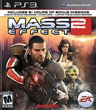 Sony Ps3 Jeu - Mass Effect 2 (us) (dans L'emballage) (utilisã)