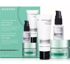 Algenist Anti-Aging Essentials Kit -Cleanser, Cream and Serum,Microalgae Genius