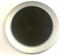 1 Aluminium ROUND CD/DVD custodia con finestra in materiale plastico trasparente 125mm x 10mm