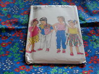 NEW LOOK BY SIMPLICITY PATTERN FOR GIRLS SKIRT PANTS AND TOP  6691 SZ 3-8