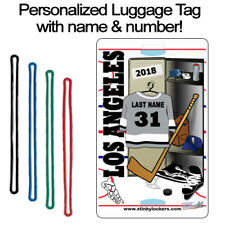 Personalized Los Angeles Hockey Luggage Tag