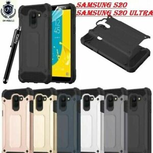 For Samsung S20 FE, S20 Plus S20 Ultra S20 TOUGH ARMOURED Shockproof Rugged Case