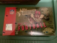 2001 Topps Heritage Football Factory Hobby Box-possible Brees RC
