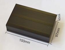 NEW Black Electrical Instruments Aluminum Box /Enclosures 150*97*40mm