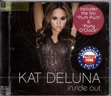 "= KAT DELUNA "" INSIDE OUT "" / CD sealed /magic records Poland"