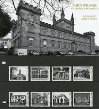 Guernsey 2019 MNH John Wilson 8v Set Pres Pack Castles Architecture Stamps