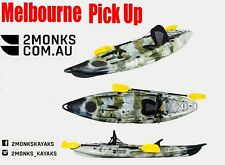 3.1M Fishing Tandam Kayak Canoe 1.5 Seater 1 Adult &1 Kid Double Melbourne