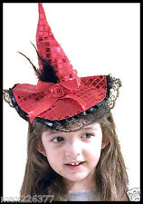 new Halloween Child's Witch hat Costume headband