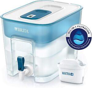 BRITA Flow XXL fridge water filter tank for reduction of chlorine 8.2L NEW