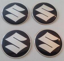 4 Sticker Suzuki 50mm Schwarz