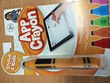NEW App Crayon stylus for iPhone iPad iPod Touch orange