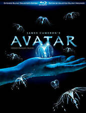 Avatar (Blu-ray Disc, 2010, 3-Disc Set, Canadian; Extended Collector's Edition)