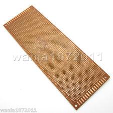 5×Prototype PCB Board 7*20cm Universal Bread Board 1800 Holes Sigle Side Copper