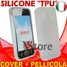 Cover Custodia Gel Trasparente Per Samsung S5830 Galaxy Ace silicone