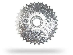 9 fach Schraubkranz 13-32 Zähne verchromt von Sunrace  E-Bike ready