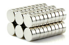 30pcs N52 Super Strong Disc Cylinder 6 mm x 3 mm Rare Earth Neodymium Magnets
