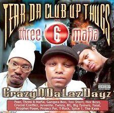 Crazyndalazdayz [PA] by Tear Da Club Up Thugs (CD, Feb-1999, 1 Disc, Relativit…