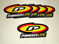 "BMX STICKERS! Powerlite Bicycles Stickers - ""Oval Logo Design"""