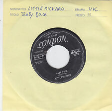LITTLE RICHARD - baby face / i'll never let you go 45""