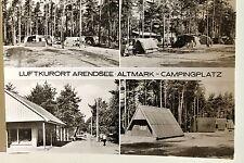 24899 Ak Arendsee Altmark Camping 1980 DDR Camping