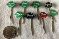 Lot of 8 Tima Meer Don Prima Holland Dutch VTG Stickpins Pins Pinbacks #37347