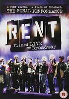 Rent: The Final Performance - Filmed Live On Broadway [DVD] [2009][Region 2]