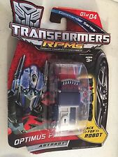 "Transformers RPMS Optimus Prime Autobot 3"" NRFB"