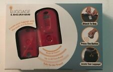Luggage Locator Electronic Button Beeps Flashes Find Suitcase Travel NIB