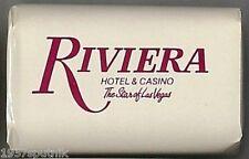 Riviera Hotel Casino Las Vegas Vintage Soap From 1991 Closed Room Souvenir NOS