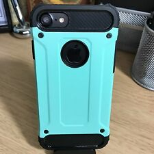 iPhone 7 Balistic Impact Resistant Case Industrial Built Rose Blue
